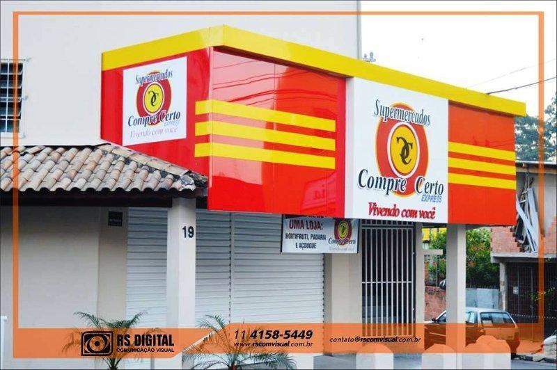 Comunicação visual fachadas sp